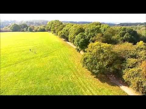 Happy Valley Park in Old Coulsdon Surrey