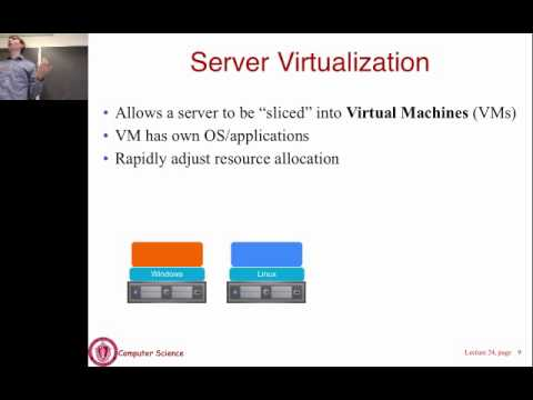 Lecture 22: Virtualization and Cloud Computing