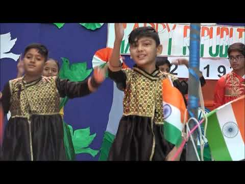 St.Xavier's School celebrating 70th republic day of India @ 2019