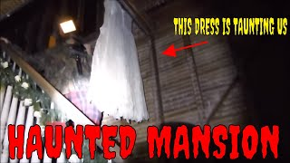 overnight stay in a haunted 1800s mansion 24 hour challenge