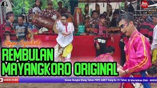 Lagu Syahdu REMBULAN == Cover Jaranan MAYANGKORO ORIGINAL Live BULUSARI TAROKAN 2019