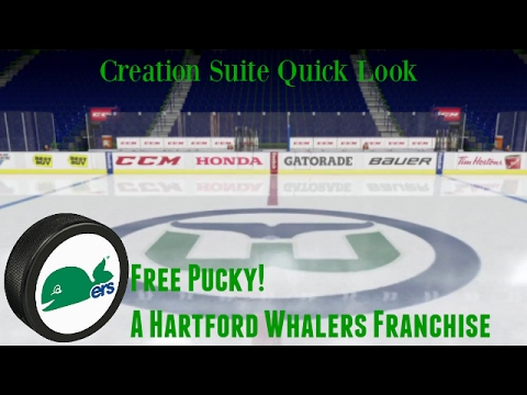 Hartford Whalers NHL 17 Creation Quick Look