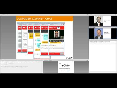 eGain Webinar: The New Customer Experience Management in Financial Services (German)