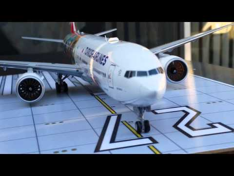 JC Wings 200 Turkish Airlines B777-300ER(Istanbul-San Francisco Livery)Review