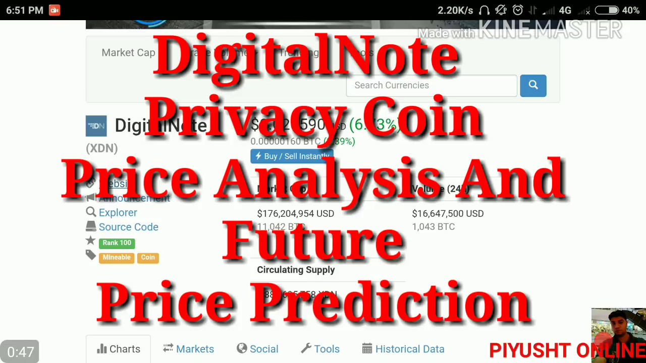 digitalnote cryptocurrency price