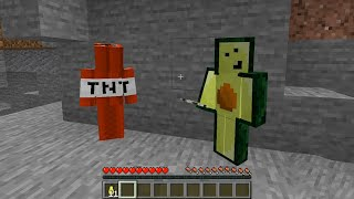Minecraft: If Avocados From Mexico and TNT had a Choice #Shorts