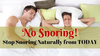 How To Stop Snoring Tonight