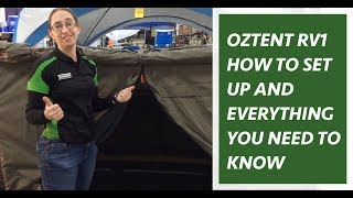 Oztent RV1 Demonstration, Features & Overview