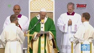 Pielgrzymka Franciszka na Litwę: Anioł Pański z Ojcem Świętym Franciszkiem