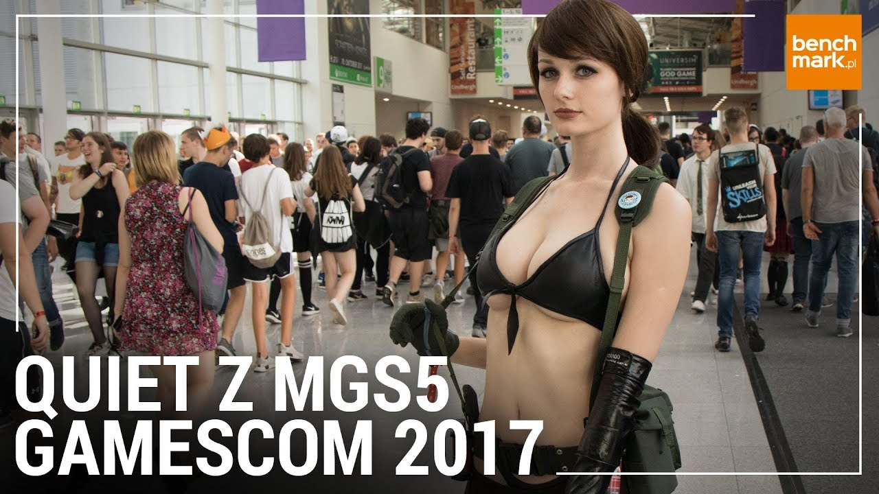 Quiet Z Mgs5 Cosplay Na Gamescom 2017 Youtube