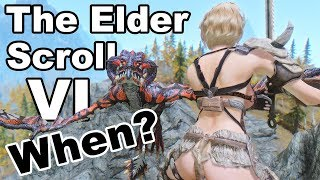 When do I think Elder Scroll 6 Will Come Out?? E3 Todd Howard Interview 2018