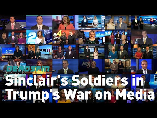 "Anchors at Sinclair-owned local news station parrot a script pushing Trump talking points and ""the troubling trend of irresponsible, one sided news stories plaguing our country."""