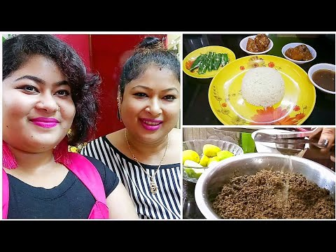 My Thursday Vlog-Pati Lebu Ajwain Home Remedies Preparation for Acidity Control-Lunch Organization