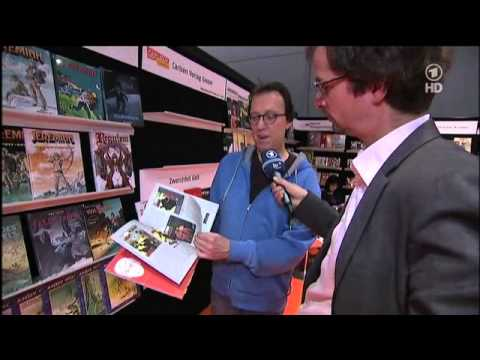Comics und Graphic Novels - Intern. Buchmesse in Frankfurt 2012
