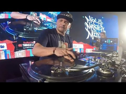 Mixmaster Mike - Red Bull Thre3Style 2016 Chile