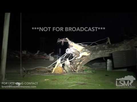1-23-17 Adel, Georgia Major Tornado Damage