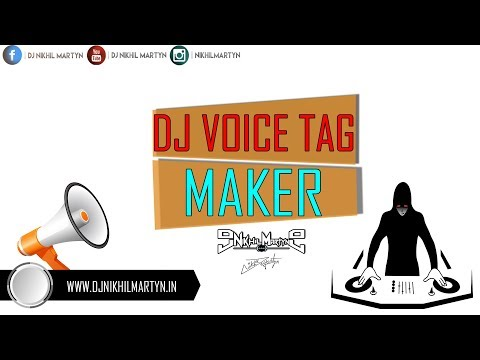 How To Make Female Dj Voice Tag Free | Tutorial In Telugu | Dj Nikhil Martyn
