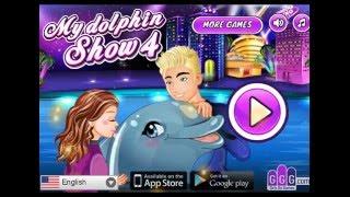 игры дельфины дельфинарий для детей мультфильм игра