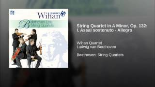 String Quartet in A Minor, Op. 132: I. Assai sostenuto - Allegro