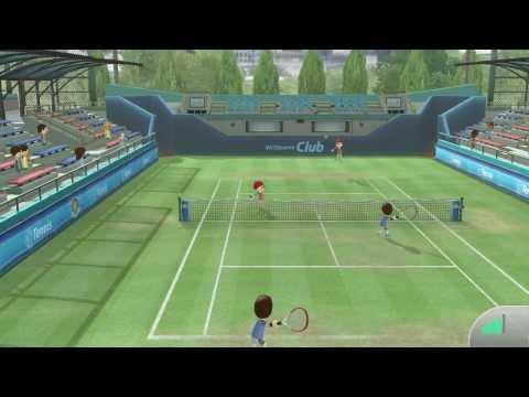 Wii Sports Club - Tennis Online