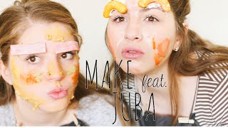 the household make up challenge with juba | BL