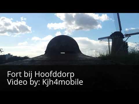 Fort bij Hoofddorp, UNESCO, stelling van Amsterdam, Video By: KjH4mobile