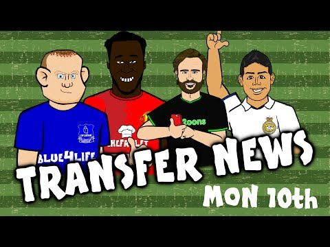 ROONEY to EVERTON! JAMES - DIER - LUKAKU to MAN UTD! 442oons Transfer News July 10