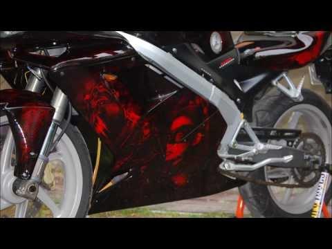 Airbrush Batman Bike by Madmorrell