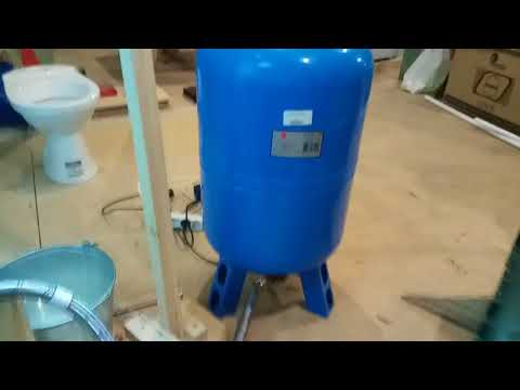 Система водоснабжения в частном доме. Мой образец.
