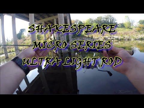 MICRO SERIES ULTRA LIGHT 7' ROD REVIEW - Shakespeare - #bassfishing #fishing