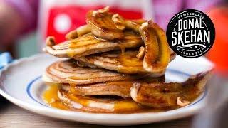 How To Make Banana Pancakes!