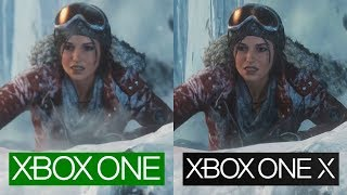 Rise of the Tomb Raider | ONE VS ONE X | GRAPHICS COMPARISON