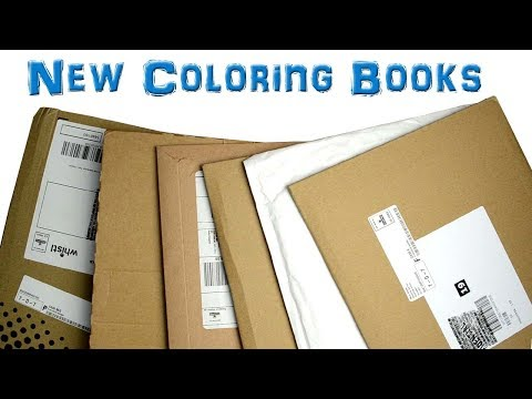 unboxing-new-coloring-books-september-1