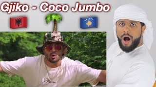 ARAB REACTION TO ALBANIAN MUSIC BY GJIKO - 🌴COCO JUMBO 🌴 **UNEXPECTED**