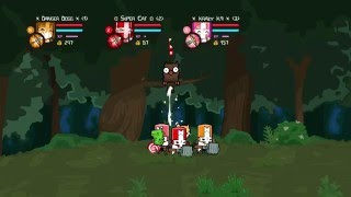 Castle Crashers: Do bears shit in the woods?