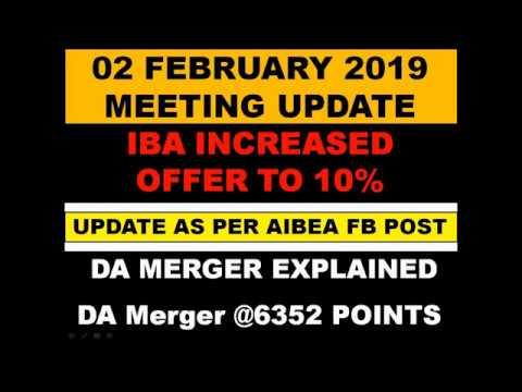 02 February 2019  IBA UFBU Full Wage Negotiating Committee Meeting Update