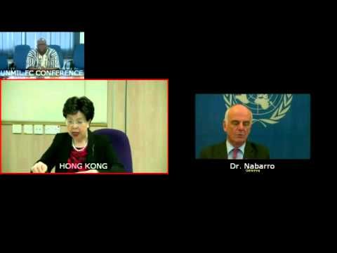 Margaret Chan (WHO) on Ebola at the Security Council, 7502nd meeting