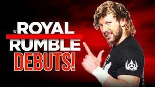 Kenny omega wwe debut| kenny omega in wwe royal rumble match | wwe royal rumble 2019 kenny omega