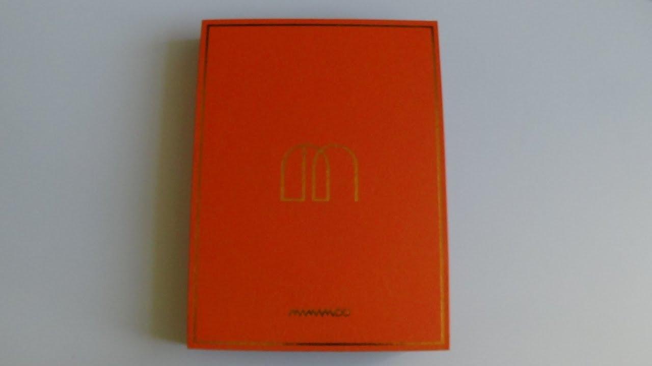 Download Unboxing Mamamoo 마마무 1st Studio Album Melting
