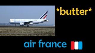 Air France A318-Landing || SFS Flight simulator Roblox|| butter