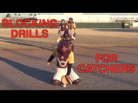 Blocking Drills For Catcher