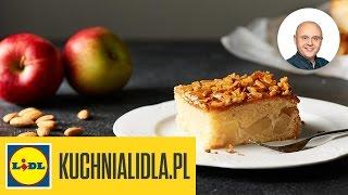 Maślane ciasto z jabłkami i migdałami - Paweł Małecki - przepisy Kuchni Lidla