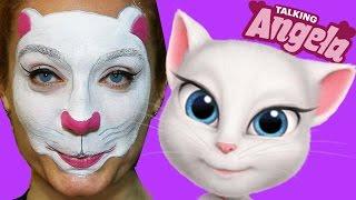 My Talking Angela Makyajı | Konuşan Kedi Angela | Makyaj Videoları | UmiKids