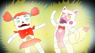 Minecraft Fnaf: Sister Location - Circus Baby Controlled Shock (Minecraft Roleplay)