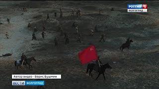 В сети набирают популярность кадры военно-исторической реконструкции «Битва за Сталинград»