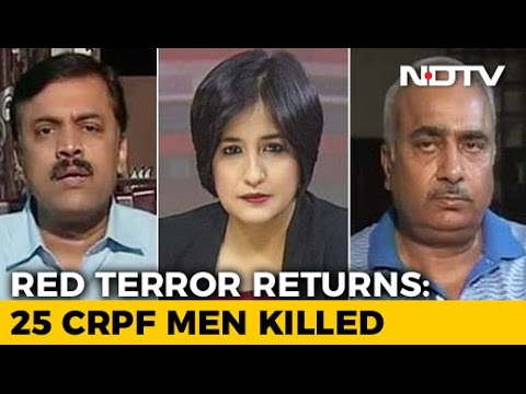 25 CRPF Jawans Killed By Naxals: Time To Give Forces A Free Hand?