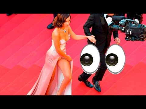 Bella Hadid FLASHES Her Panties on the Cannes Film Festival Red Carpet!