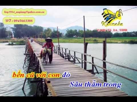 16 Câu Gian Nam : Tình Hoài Hương - Karaoke ( Dây Đào) )