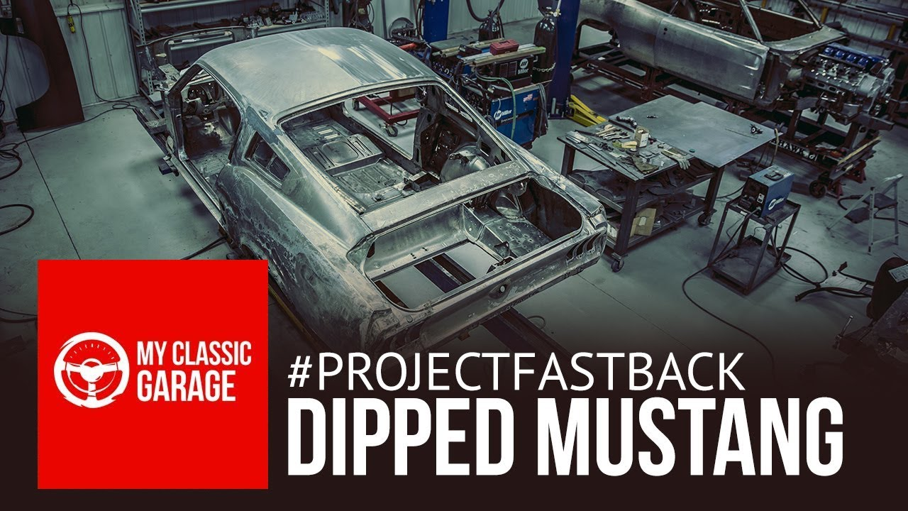 Project Fastback Gets Chemical Dipped Youtube