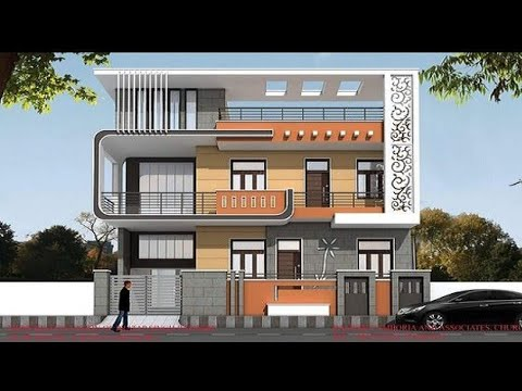 150 Modern House front elevation design ideas 2020 - YouTube